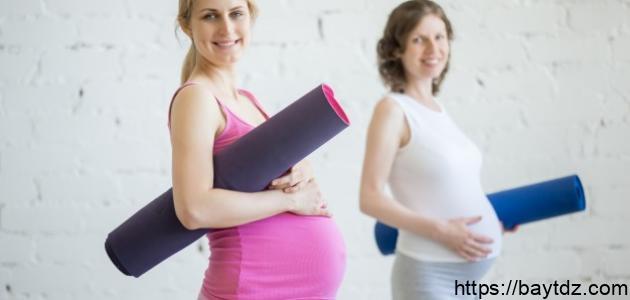 تمارين للحامل في الشهور الأولى