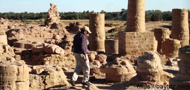 جبل البركل في السودان