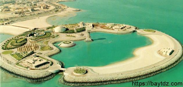 جزيرة الخضراء في الكويت