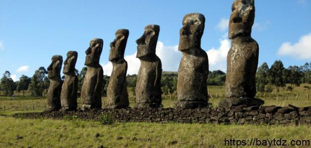 جزيرة الفصح في تشيلي