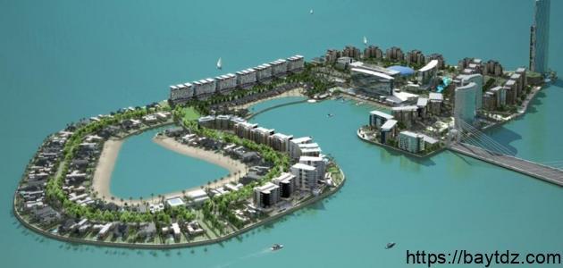 جزيرة في البحرين