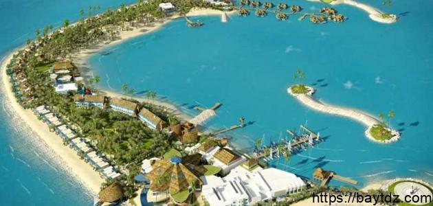 جزيرة في قطر
