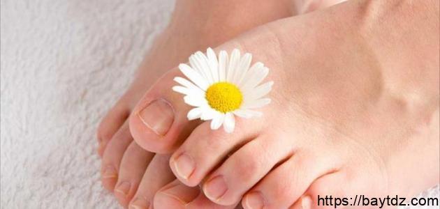 حل مشكلة رائحة القدمين