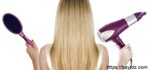 حماية الشعر من السشوار