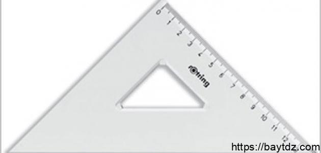 خصائص الأشكال الهندسية