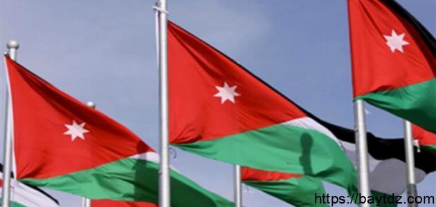 دلالات ألوان العلم الأردني