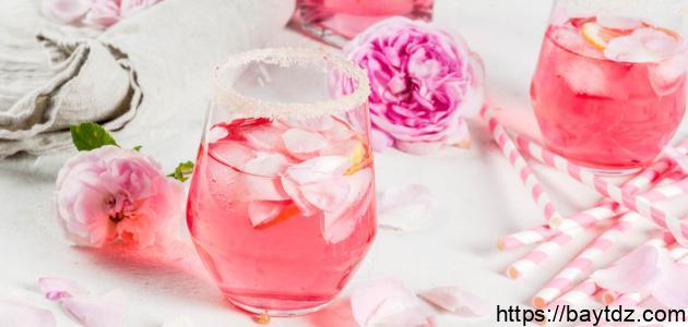 رجيم ماء الورد