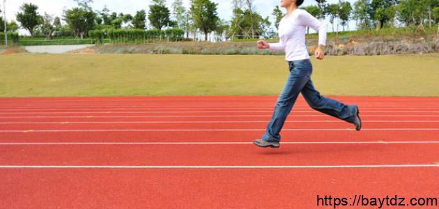 رياضة المشي السريع