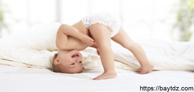 زيادة التعرق عند الأطفال