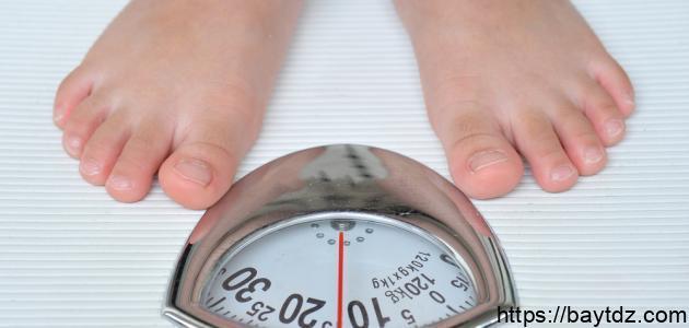 زيادة الوزن للنساء