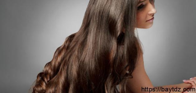 زيادة سمك الشعر