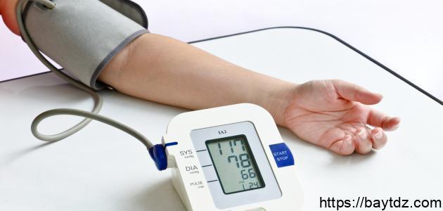 سبب انخفاض ضغط الدم وعلاجه
