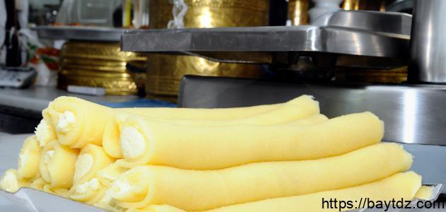 صنع حلاوة الجبن