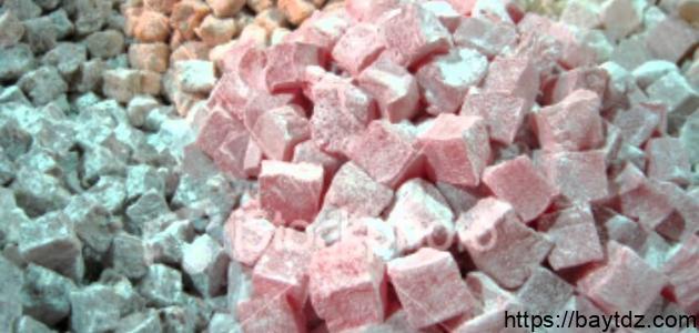 صنع حلوى الحلقوم