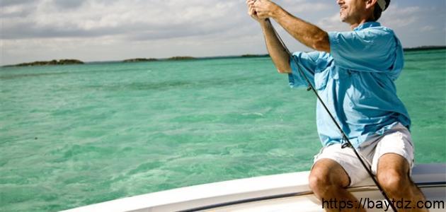 صيد الأسماك بالصنارة
