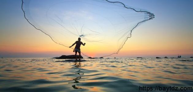 طرق اصطياد السمك
