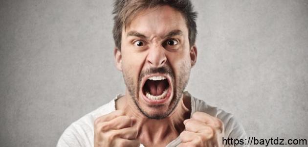 طرق التخلص من الغضب