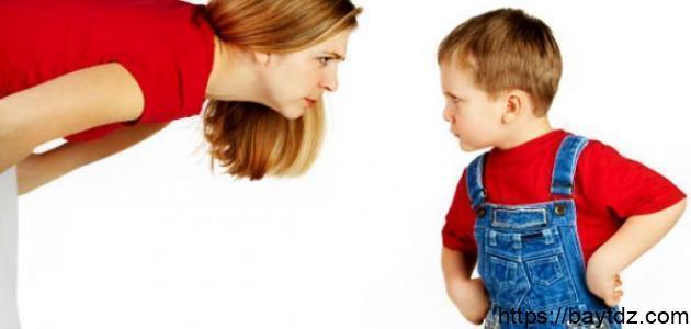 طرق العقاب السليمة للأطفال