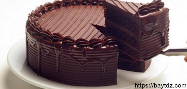 طرق الكيك بالشوكولاتة