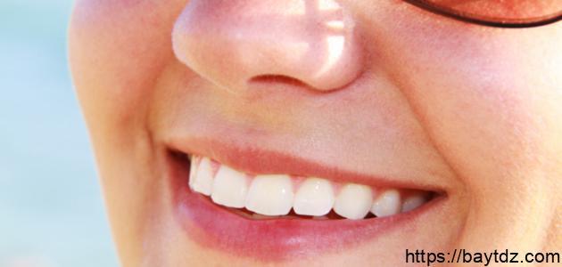 طرق تبييض الأسنان في ستة أيام