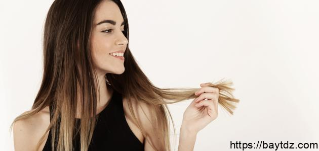 طرق تطويل الشعر الجاف