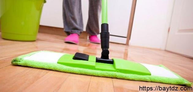 طرق تنظيف السيراميك