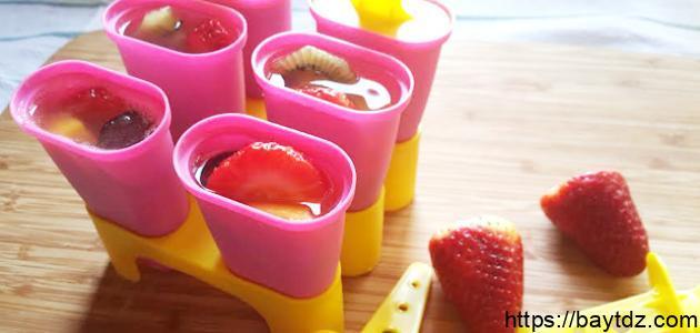 طرق صنع المثلجات