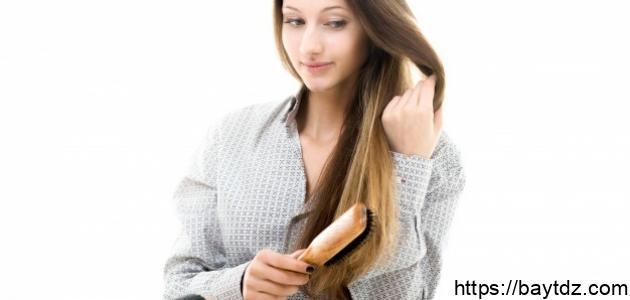طرق فرد الشعر في البيت