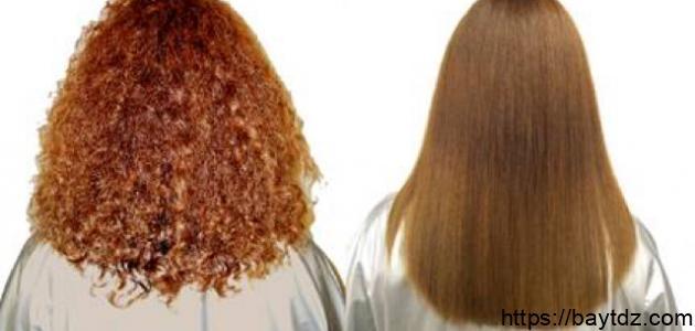 طرق فرد الشعر في المنزل