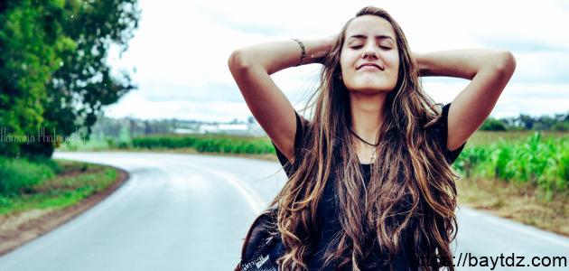 طريقة إزالة قشرة الشعر بالخل