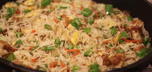 طريقة الأرز الصيني