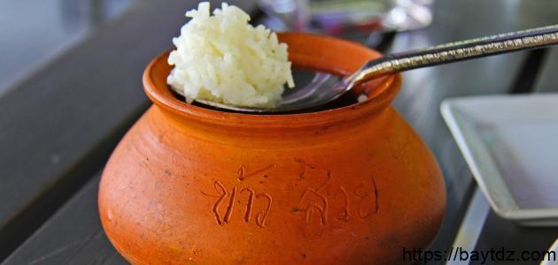 طريقة الأرز في الفرن بالبشاميل