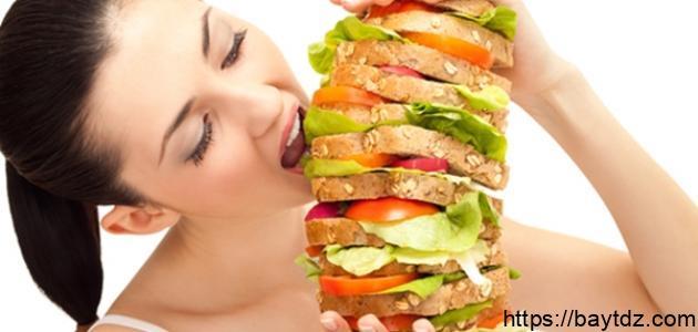 طريقة الزيادة في الوزن