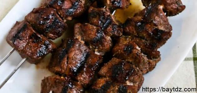 طريقة اللحم بالفرن