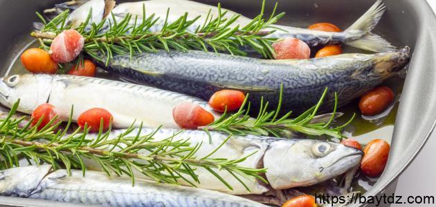 طريقة تتبيل السمك بالفرن
