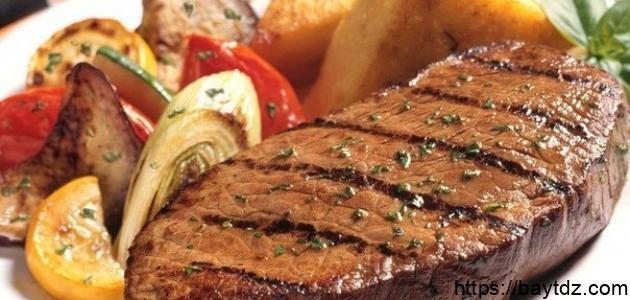 طريقة تتبيل ستيك اللحم