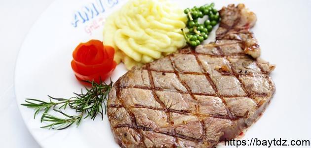 طريقة تحضير بفتيك اللحم