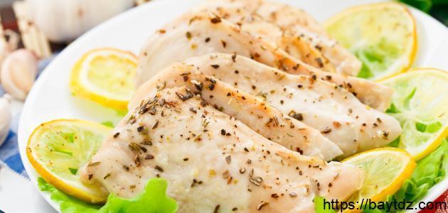 طريقة تحضير صدور الدجاج للرجيم