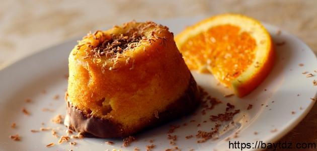 طريقة تحضير كيكة برتقال