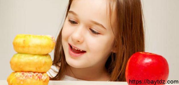 طريقة تخفيف الوزن للأطفال
