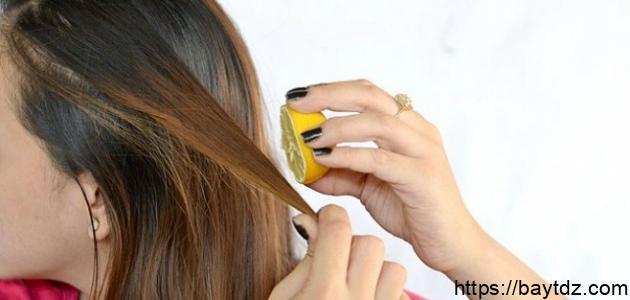 طريقة تفتيح الشعر