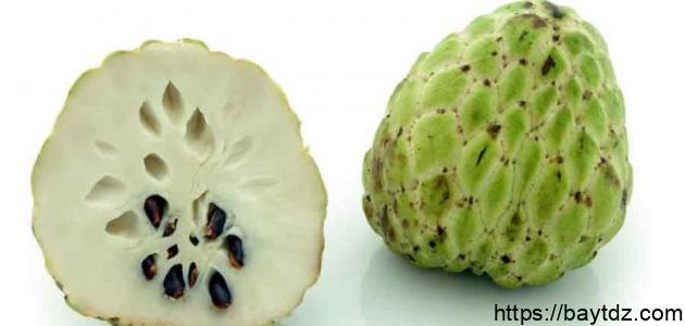 طريقة تقشير فاكهة القشطة