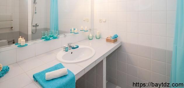 طريقة تنظيف مغسلة الحمام