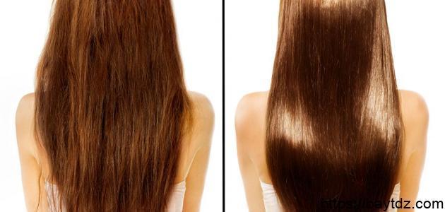 طريقة تنعيم الشعر الخشن