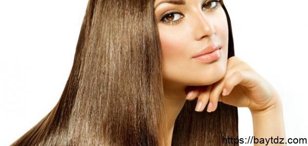 طريقة تنعيم الشعر وتطويله