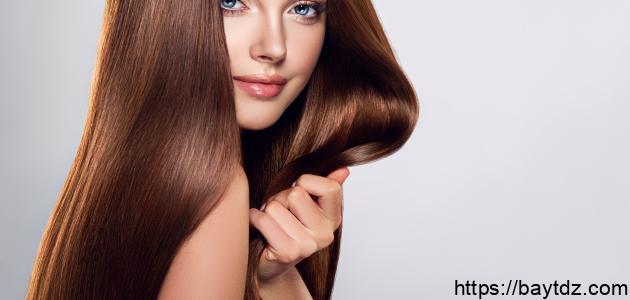 طريقة جعل الشعر أملس