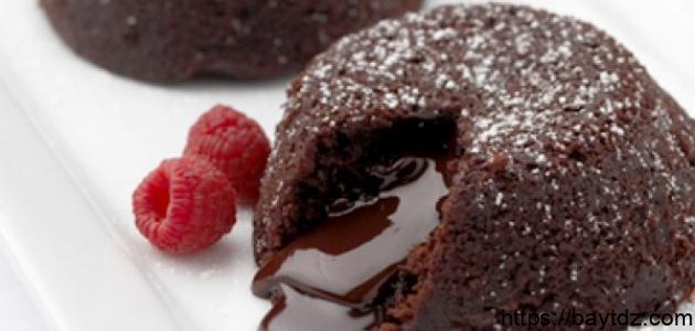 طريقة حلى بالشوكولاتة