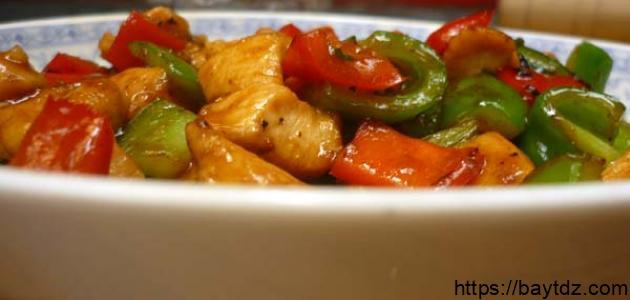 طريقة دجاج كانتون الصيني