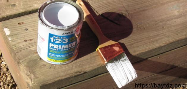 طريقة دهان الأبواب الخشبية