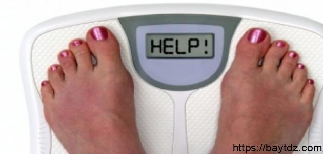 طريقة زيادة الوزن بسرعة